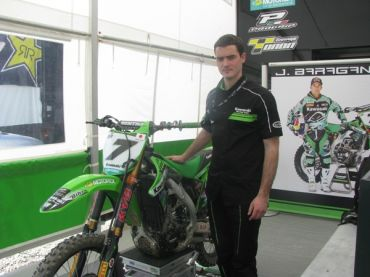 В падока с: Kawasaki Racing Team в България